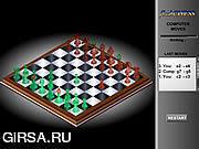 Флеш игра онлайн Шахмат Flass