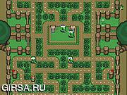 Флеш игра онлайн Зельда - сбор таблетки / Zelda - The Collecting of Pills