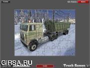 Флеш игра онлайн 18 Мусоровоз / 18 Wheelers Garbage Truck