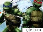 Флеш игра онлайн Turtles two dragons