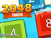 Флеш игра онлайн 2048 тройки