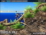 Флеш игра онлайн Велосипед пляжа