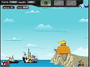 Флеш игра онлайн Пушечная война / 360 Cannon