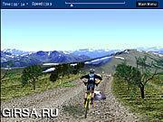 Флеш игра онлайн 3D Mountain Bike