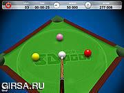 Флеш игра онлайн 3D Быстрый Бильярд