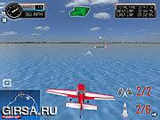 Флеш игра онлайн Трюки на Самолете 3D