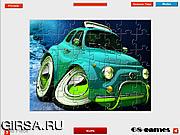 Флеш игра онлайн Тачка 3D. Мозайка / 3D Car Jigsaw