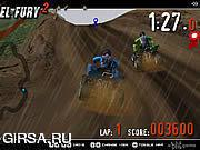 Флеш игра онлайн 4 Колеса Ярости 2
