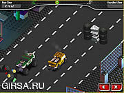 Флеш игра онлайн Сквозное Увлечение / Crosstown Craze