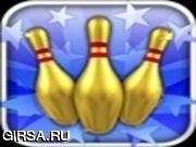 Флеш игра онлайн Gutterball: Золотой Pin Боулинг
