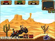 Флеш игра онлайн ATV Cowboys