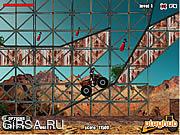 Флеш игра онлайн Уничтожитель на Квадроцикле