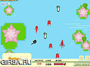 Флеш игра онлайн Adventure In Pond