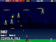 Флеш игра онлайн Парашютисты чужеземца / Alien Paratroopers