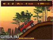 Флеш игра онлайн Крутой грузовик 2 / Alp Truck 2
