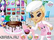 Флеш игра онлайн Вкусная Выпечка Эми / Amy's Tasty Pastries
