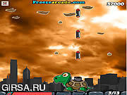 Флеш игра онлайн Сердитая черепаха / Angry Turtle