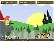 Флеш игра онлайн Нападение Beanmen / Attack Of The Beanmen