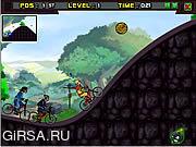 Флеш игра онлайн Гонка аватара на БМХ / Avatar Bmx Racing