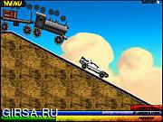 Флеш игра онлайн Back To The Future Train Scene