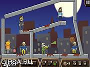 Флеш игра онлайн Balloons vs Zombies 2