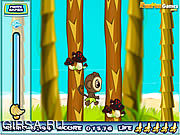 Флеш игра онлайн Вперед за бананами!