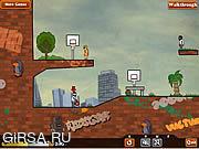 Флеш игра онлайн Баскетбольные мячи / Basket Balls