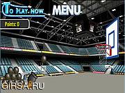 Флеш игра онлайн Basket Cannon