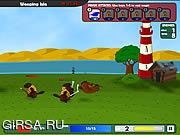 Флеш игра онлайн Битва бобров / Battle Beavers