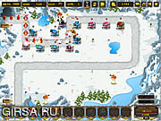 Флеш игра онлайн Battle of Antartica