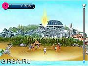 Флеш игра онлайн Футбол искусств пляжа