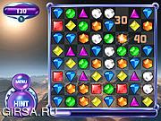 Флеш игра онлайн Официальная Игра Bejeweled 2