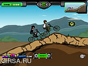 Флеш игра онлайн Ben 10 BMX