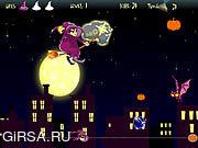 Флеш игра онлайн Ноча Бен 10 Halloween