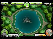 Флеш игра онлайн Бен 10 Атака Кракена
