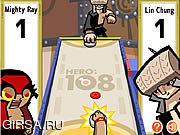Флеш игра онлайн Аэрохоккей