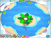 Флеш игра онлайн Большая пушка верхней части вала / Big Tree Top Gun