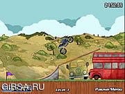 Флеш игра онлайн Чемпион велосипеда