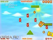 Флеш игра онлайн Охотник шариков / Blobs Hunter