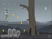 Флеш игра онлайн Остаться в живых / Bloosso Run