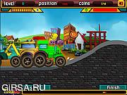Флеш игра онлайн Гонщик Боб / Bob the Racer