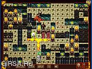 Флеш игра онлайн Bomber Knights