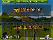 Флеш игра онлайн Научный коллектив - звеец / Brain Power - Zoo