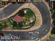 Флеш игра онлайн Жестокие Гонки 2010 Зависимость Нитро / Brutal Racing 2010 Nitro Addiction