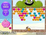 Флеш игра онлайн Пузыри. Монстр