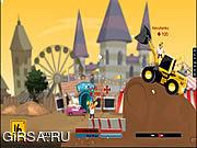 Флеш игра онлайн Ссоры строителей / Builders Brawl