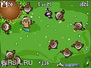 Флеш игра онлайн Суматоха по кроликам / Bunny Bustle