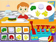Флеш игра онлайн Угол бургера / Burger Corner