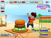 Игра Burger Mania Decorate