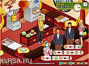 Флеш игра онлайн Бургер - ресторан 3 / Burger Restaurant 3
